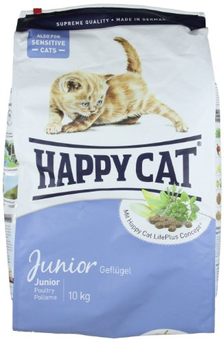 katzeninfo24.de Happy Cat Katzenfutter 70030 Junior 10 kg
