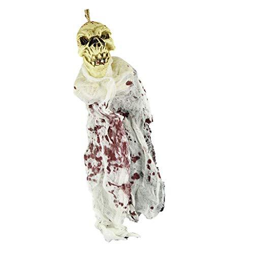 P Prettyia 1 Stück Schreckliche Babypuppe Geisterpuppe Halloween Requisiten Spielzeug Dekoration - # B