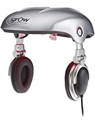 Apira Science iGrow Hands-Free Laser LED Light Therapy for Hair Regrowth Rejuvenation, FDA-Cleared Hair Loss, Balding and Hair Thinning for Men and Women with Built-In Headphones and MP3 - Stop Hair Loss (New)
