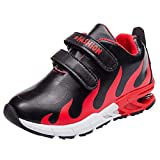 Topgrowth Scarpe Da Ginnastica Bambino Scarpe da Fitness Unisex Bambini Ragazze Stella Fuoco Stampa Sport Running Casual Scarpe da Corsa Primavera Ragazzo Sneakers