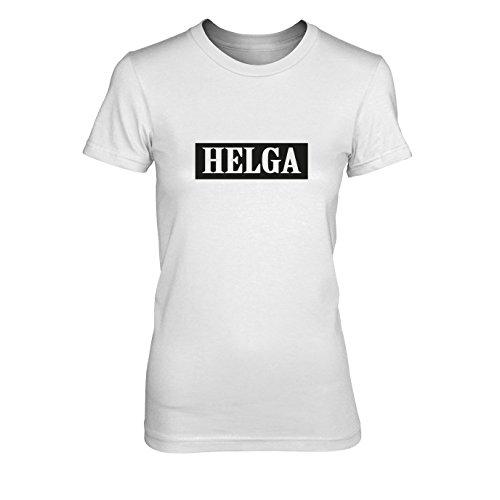 Helga - Damen T-Shirt Weiß