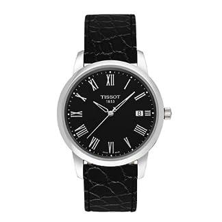 Para hombre reloj Tissot t0334101605301T-Classic T-Classic sueño caso de acero inoxidable