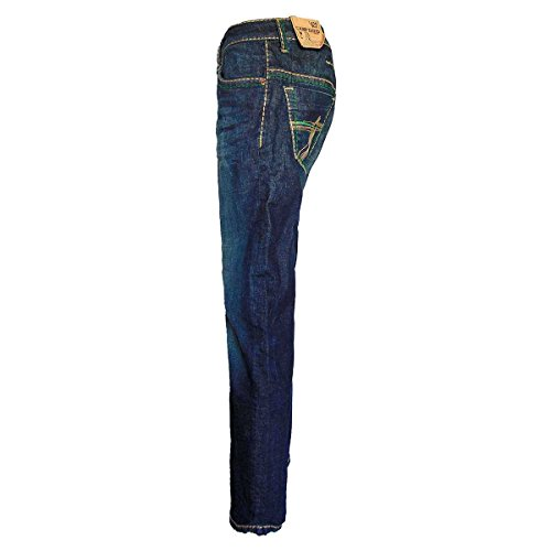 CAMP DAVID JEANS DARK VINTAGE Darkblau