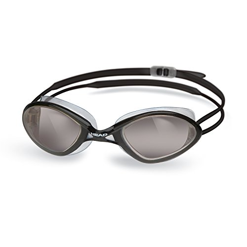 HEAD TIGER RACE LSR + Schwimmbrille - CLBK SMK (Clear-Black Smoke)