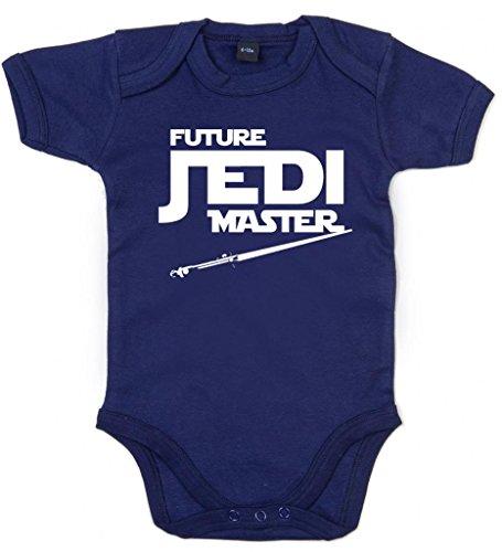 Image Vêtements bébé, Future Jedi Master, Body Bébé garçon, 12-18m, Bleu Foncé