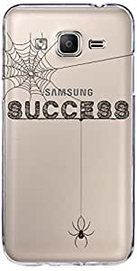 URBAN KOLOURS Original Designer Printed Clear Case Back Cover for Samsung Galaxy On5 (Success Web-Clear)