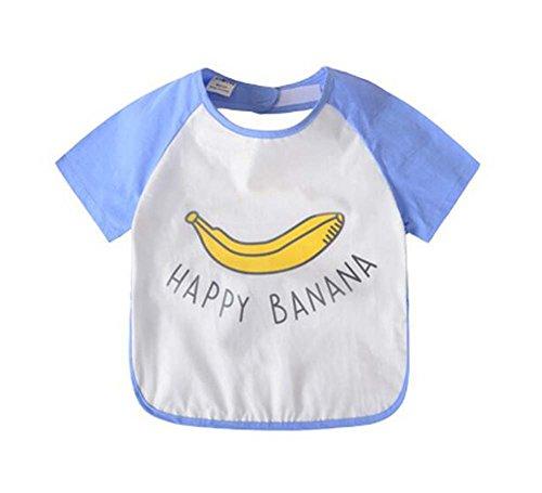 Bequemes Baby Waterproof Fütterung Lätzchen Schürze, Banane, 90-100cm - Banane Elektrische
