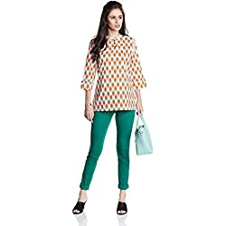 Myx Women's Straight Kurta (NIT001CORE10D_Multicolored_XX-Large)