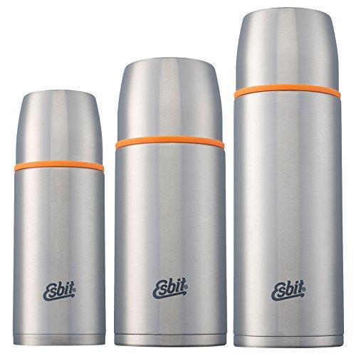 Esbit Isolierflasche | Edelstahl | BPA-Frei | Schwarz, Silber & mehr | 1L & mehr | Reise, Outdoor, Angeln | Tee, Kaffee
