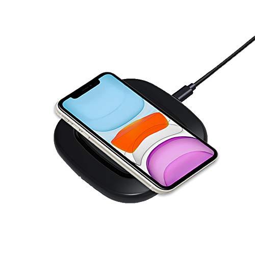 Hoidokly Caricatore Wireless Rapido10W con Ventola di Raffreddamento Ricarica Wireless per iPhone 11/11 Pro/11 PRO Max/XS/X/8/8 Plus, Samsung S10/S10e/S9/S8/S7, Nota 10/10+/9 e Altri Dispositivi Qi