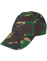 KAS Kids Camo Cap Woodland Army Cadet Fancy Dress Soldier