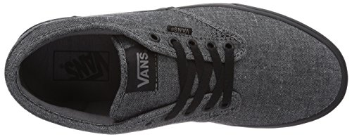 Vans ATWOOD Herren Sneakers Schwarz ((Textile) black EYE)