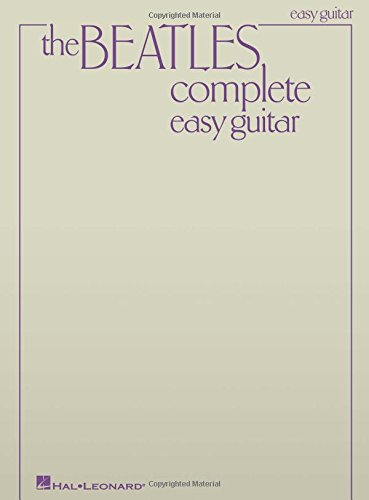 The Beatles Complete (Easy Guitar): Songbook für Gitarre