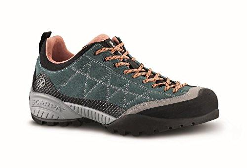 Scarpa Schuhe Zen Pro Women Größe 39 nile Blue/Salmon