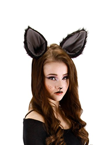 Deluxe Adult Costume Kitty Cat Ears