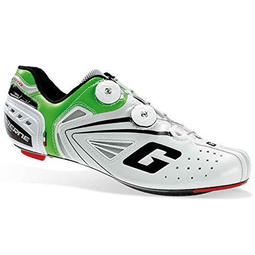 Gaerne Carbon G.Chrono Scarpe Road Ciclismo, Green - Bianco, 39.5