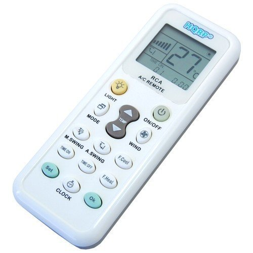 HQRP Telecomando universale per condizionatori d'aria Whirlpool DeLonghi Daikin Samsung Sanyo Haier Hisens Amcor