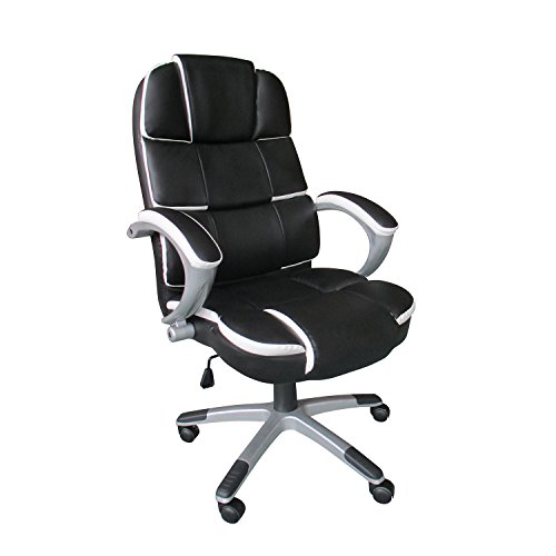 Best HOMPO High Back Executive Office Chair [LUXURY DESIGN]Computer Desk Commercial Furniture Review