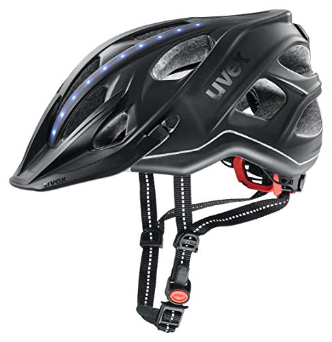 Uvex City light Fahrradhelm, anthracite mat, 56-61 cm
