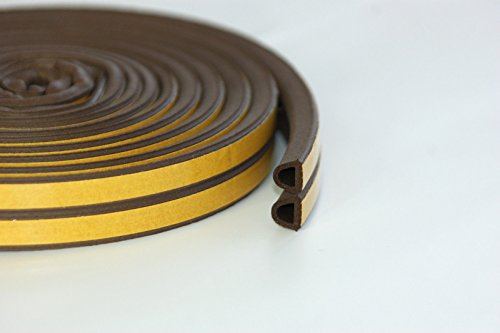 5m-brown-d-profile-weatherbar-draft-epdm-rubber-roll-strip-draught-seal-and-foam-for-window-or-door
