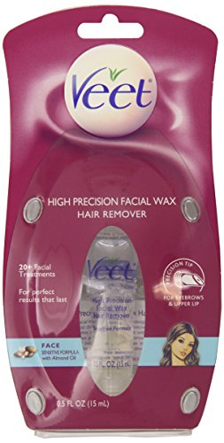 Veet High Precision Facial Wax Hair Remover, 0.50 Ounce