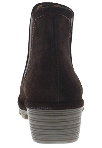 FLY London Damen Phil Chelsea Boots Espresso-Öl-Wildleder