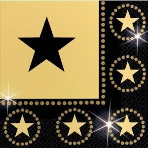 t Sternenmotiven Einheitsgröße (Hollywood Stars Fancy Dress Kostüme)