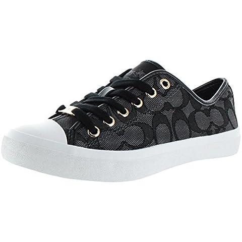 Coach Empire Women 's Signature Zapatillas Zapatos Bajo UK tamaños