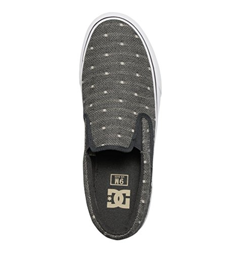 DC Shoes Trase T M, Baskets Basses Homme Noir - Black/Tan