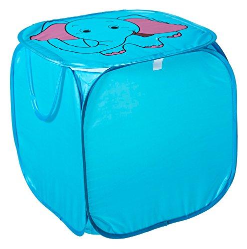 Bieco 04140094Pop Up Caja de almacenamiento elefante