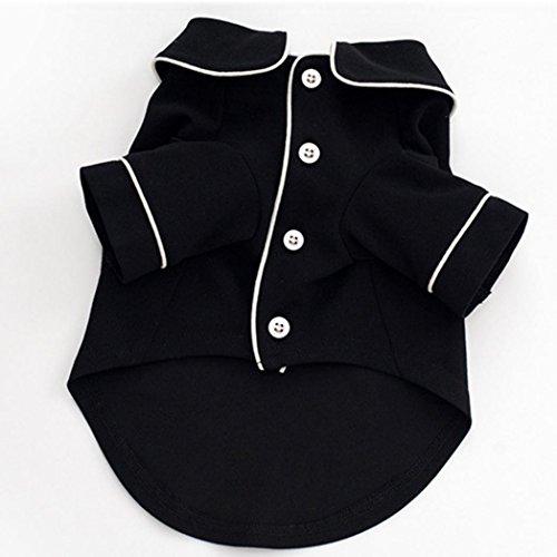 Bluelans® Welpen Kleidung Haustier Bekleidung Hunde Pullover Motiv Nachthemd Nachtwäsche (Nachtwäsche Pullover)