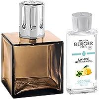 LAMPE BERGER Encrier Duftlampe, Glas, Amber, 7x7,13 cm preisvergleich bei billige-tabletten.eu