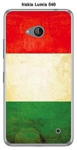 Coque Drapeau Italie vintage pour Nokia Lumia 640
