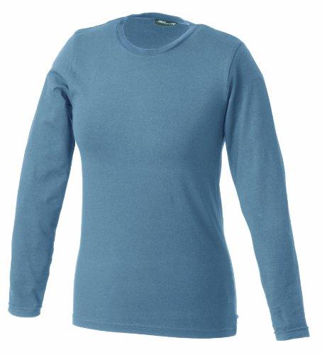 James & Nicholson Damen T-Shirt Tangy T - Longsleeve, Gr. Small, Grau (mildgrey) (S/s T-shirt Navy Erwachsene)