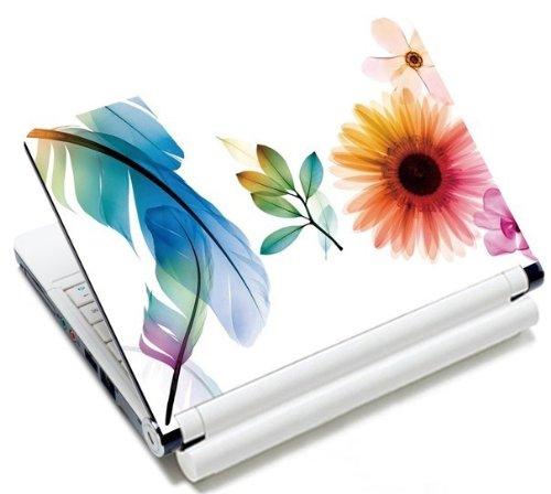MySleeveDesign Notebook Skin Aufkleber Folie Sticker für Geräte der Größe 10,2 Zoll / 11,6-12,1 Zoll / 13,3 Zoll / 14 Zoll / 15,4-15,6 Zoll mit VERSCH. DESIGNS - Sunflower