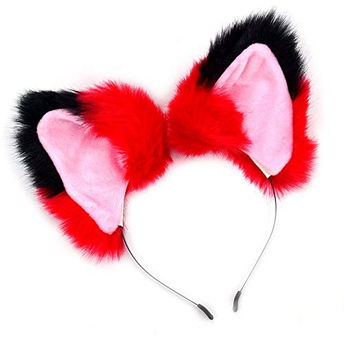 en Stirnband Cosplay Kostüm Velet Kopfdekoration Mädchen Frauen (A) ()