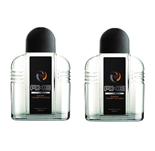 Axe After Shave Dark Temptation - Pack 2 x 100ml Total