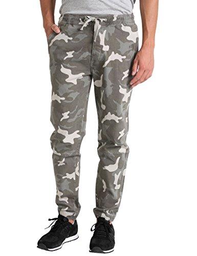 Lower east le223, pantaloni uomo, multicolore (carmouflage), 58 (taglia produttore: 3x-large)