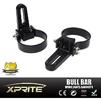 Xprite Coppia regolabile Bar supporto staffa Morsetti