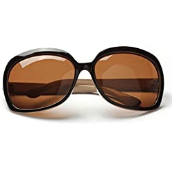 LianSan Designer Fashion Polarized Sunglasses - Brown Polarized
