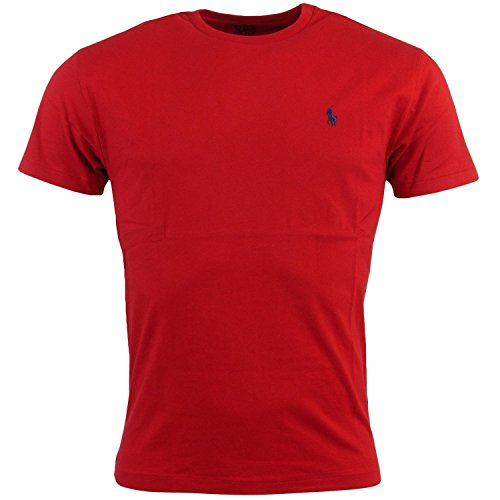 RALPH LAUREN T-Shirt HERREN TEE SHIRT CLASSIC FIT RLNM1000 l rot