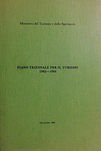 Piano triennale per il turismo 1982-1984