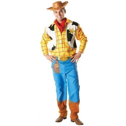xe Disney Woody Toy Story Cowboy Halloween Kostüm Kleid Outfit STD XL - Multi, X-Large (Woody Kostüm Halloween)