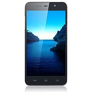 AGPtek® 5,0 pouces Grand écran ultra-mince téléphone à écran tactile Google Android 4.2 Dual Core double carte double veille 3G