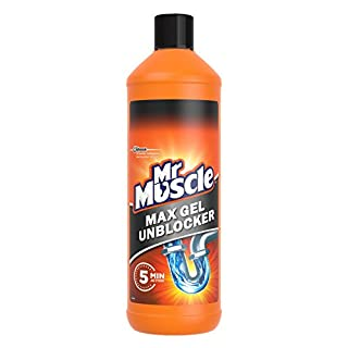 Mr Muscle Kitchen + Bathroom Drain Gel, 2 x 1L (2 Packs)