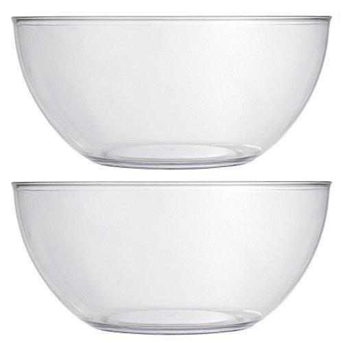 Servierschale Sets L farblos Garten Bowl-set