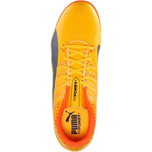 Puma Herren Evopower Vigor 4 IT Fußballschuhe orange - dunkelblau