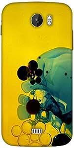 Snoogg Aqua Designer Protective Back Case Cover For Micromax A110