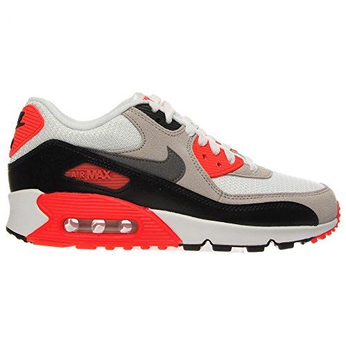 Nike Air Max 90 Prem Mesh (Gs), Chaussures de Running Compétition Garçon, Bleu Blanc
