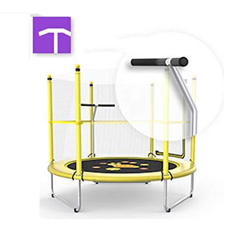 Mini-Trampolin mit Griff Korb, sicher und langlebig Baby-Trampoline - 3 Stile zur Auswahl,Handrail